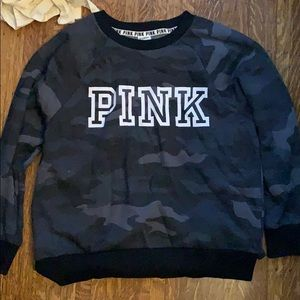 VS PINK wear everywhere legging crew sweatshirt